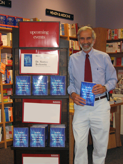 Dr. Berkowitz attends a book signing